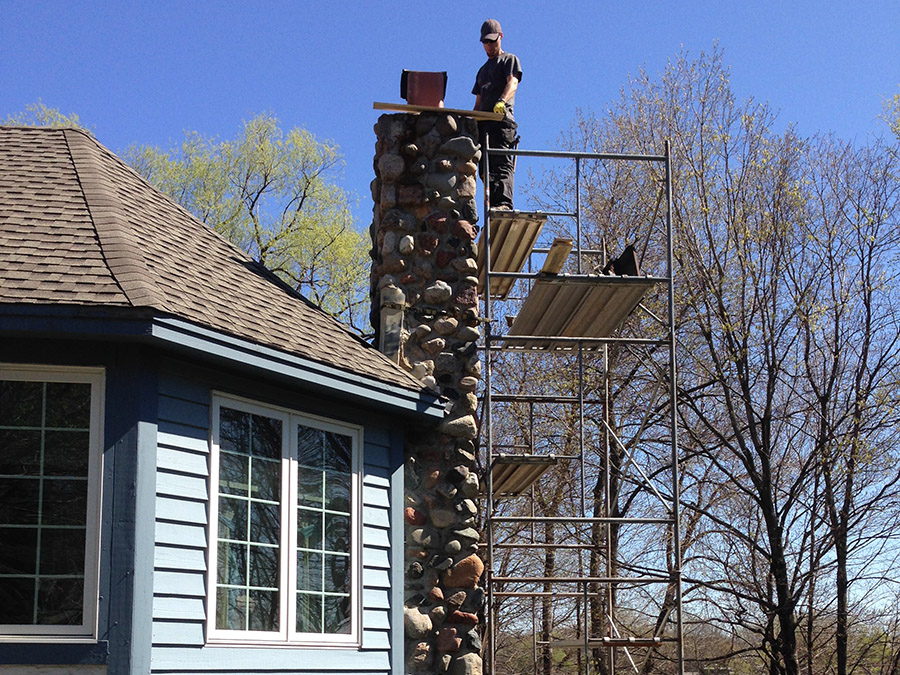 Blue Sky Chimney Sweeps Advises Homeowners to Get Those Repairs Done Sooner Than Later With The Rainy Season Right Around The Corner