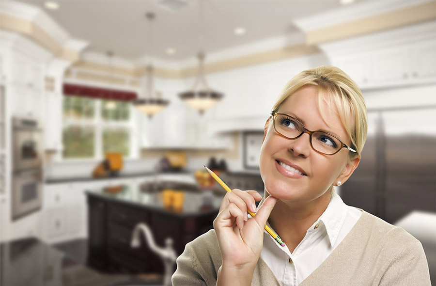 How does a homeowner begin to plan a large remodel?